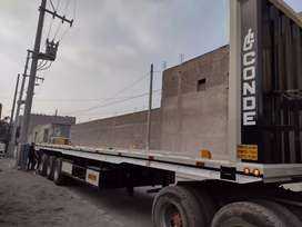 Se vende plataforma , semi trailer ,ranfla nueva de 13.5 mt