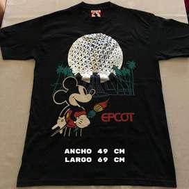 Remera Disney Epcot Usada (Talle M)