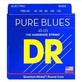 Encordado Dr PB545 bajo electrico 5 C Music Box