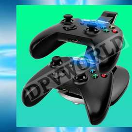 Base Carga Controles Xbox One Blue Led Charging Cable Xbox 1