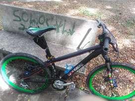 Bicicleta todo terreno diseño único