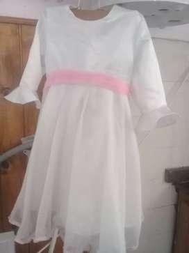 Vestido de bautismo para un año y medio
