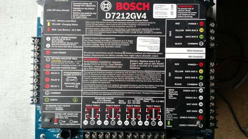 PANEL DE CONTROL BOSCH D7212GV4 PARA INGENIERÍA DOMÓTICA DE PERFECTA 0