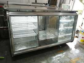 Vendo refrigerador exividor acero orisontal