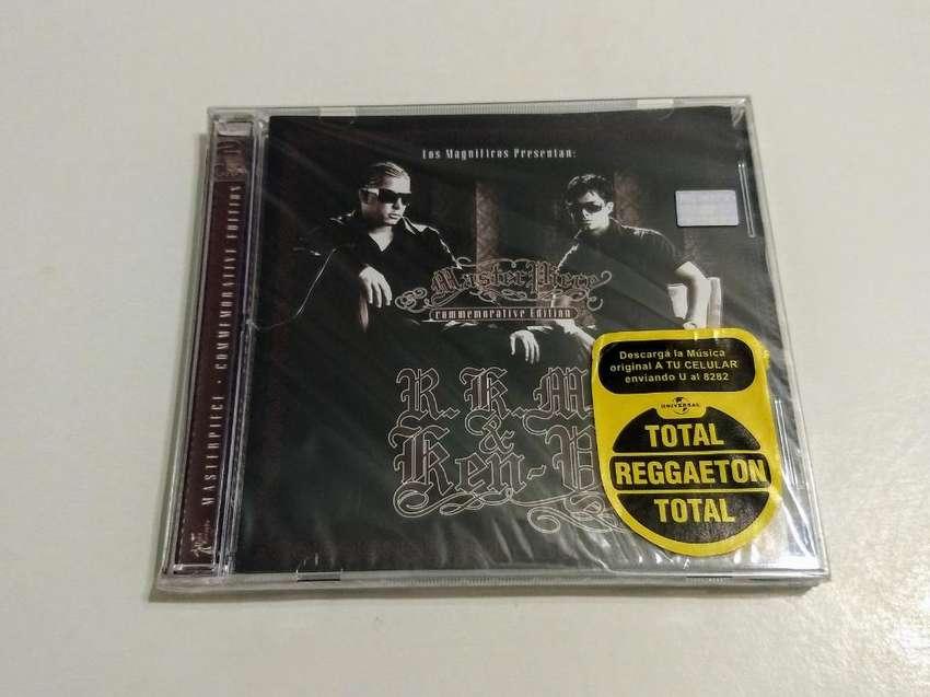 CD-DVD de RKM y Ken-Y de reggeaton. Nuevo 0
