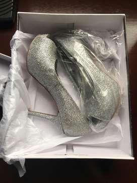 Zapatos para fiesta Nine West talla 5 y medio