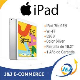 Nueva iPad Apple 7 32gb 2019 Wifi Garantia Apple