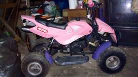mini cuatriciclo 50 cc impecable