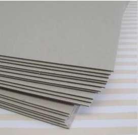 Cartón gris De 1.2 Mm cortado A4 - 21x29.7 Paq.x10u
