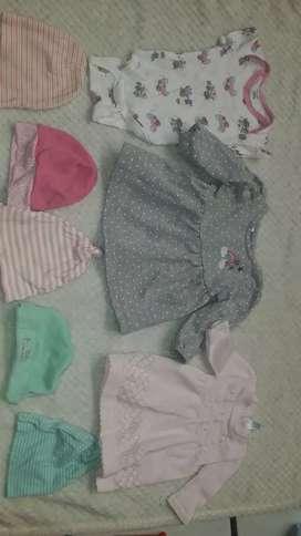 Lote de bebe de 0 a 3 meses 33 piezas