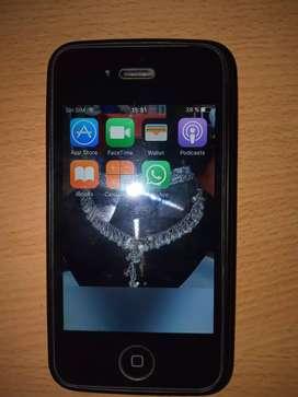 Iphone 4 negro