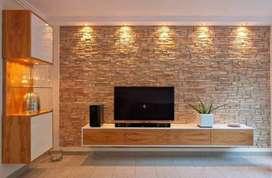Drywall, porcelanato, electricidad, proyectos