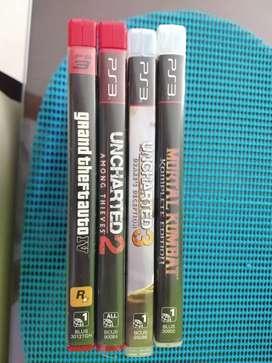 4 juegos por 65 mil para PS3