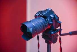 Nikon D5300 + Lente 18-140mm