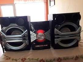 Equipo de Sonido Marca Panasonic Nuevo, Envió Gratis Garantizado