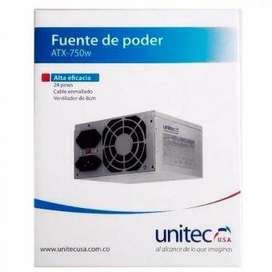 FUENTE DE PODER ATX750W