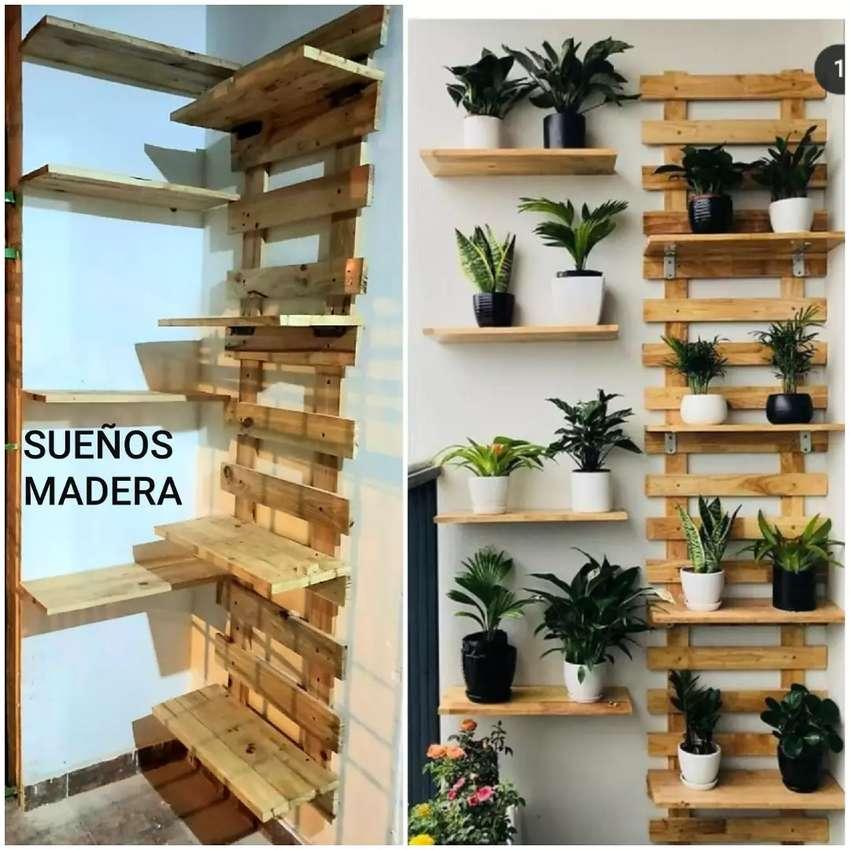 jardinera SUEÑOS MADERA 0