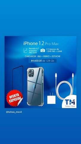 IPHONE 12 PRO MAX DE 128 GB EN OFERTA