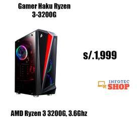 AMD Ryzen 5 3200 video rx570 CPU