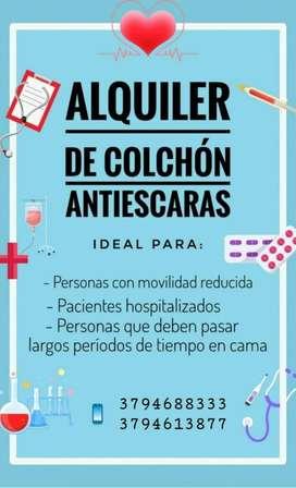 ALQUILER COLCHÓN ANTIESCARAS