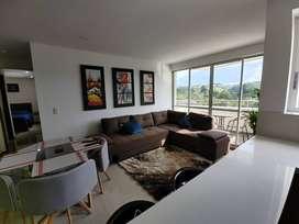 Lujoso apartamento amoblado de 2 cuartos en Ceiba Grande de Canaan - Alamos. Precio Incluye servicios.