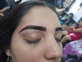 Busco muchacha para cejas semipermanente pestañas depilación con experiencia