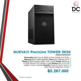 NUEVA!!! Precision TOWER 3630
