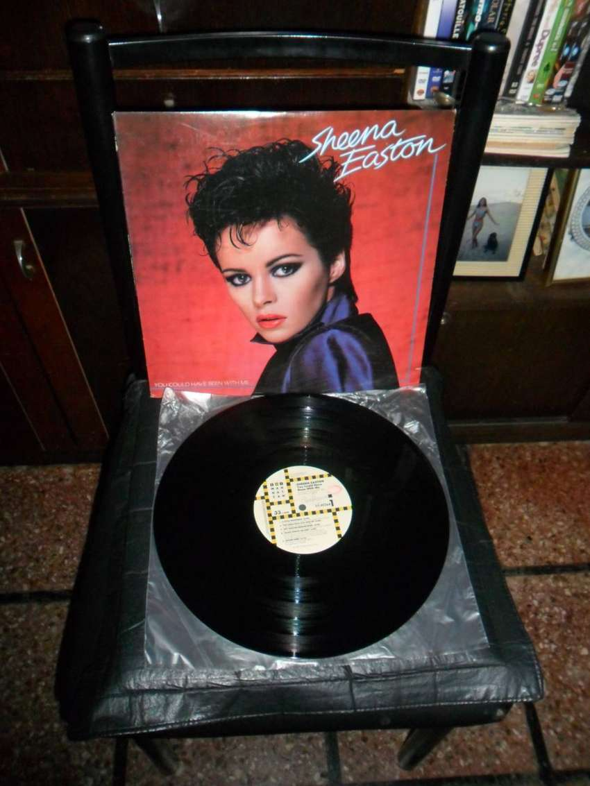 Vinilo Sheena Easton. You could have been with me. 1981. USA.