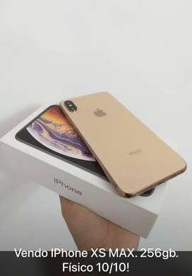 Vendo iPhone XS max 256gb 10/10
