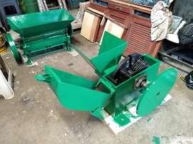 Molino picador múltiple y máquina despulpadora de 4 chorros
