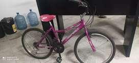 Bicicleta para niña/mujer