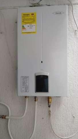 Reparacion de fugas a  gas natural