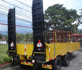 Carreta para transporte de materiales Low boy