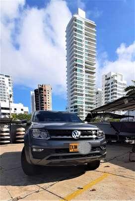 volkswagen amarok comfortline 2018 automática, gris indio metalizado placas Bucaramanga