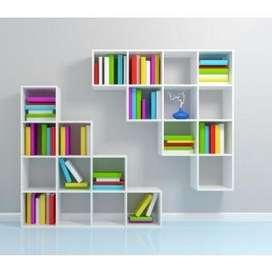 repisas modernas para libros