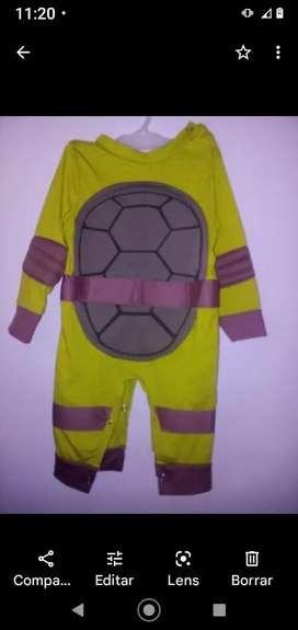 Disfraz de tortuga 1 año