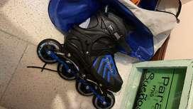 Vendo patines con dos usos, practicamente nuevos