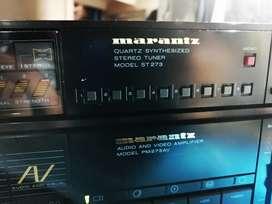 Marantz Marantz pm273AV-Amplificador , sintonizador de ST273Combo Sansui,akai,pioneer, technics vin
