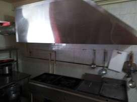 Vendo estufa industrial y campana para negocio