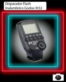 Disparador Flash Inalambrico Godox XT32