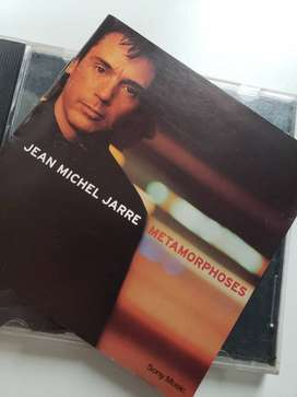 Cd Jean Michel Jarre - Metamorphoses