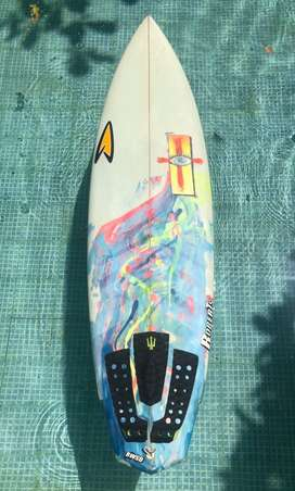 "Tabla de Surf / 6'2"" Roberts White Diamond 5-fin Setup"