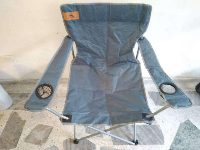 silla plegable para acampar high sierra ultima exhibicion 0