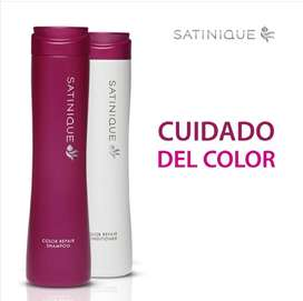 Shampoo y acondicionador cuidado de Color - Satinique