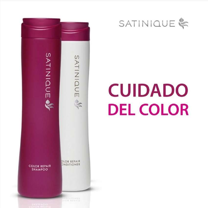 Shampoo y acondicionador cuidado de Color - Satinique 0