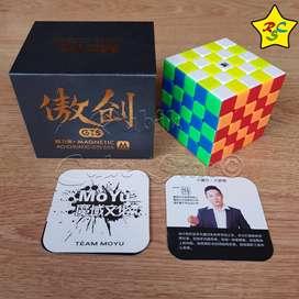 Cubo Rubik 5x5 Moyu Aochuang Gts M Magnetico Stickerless