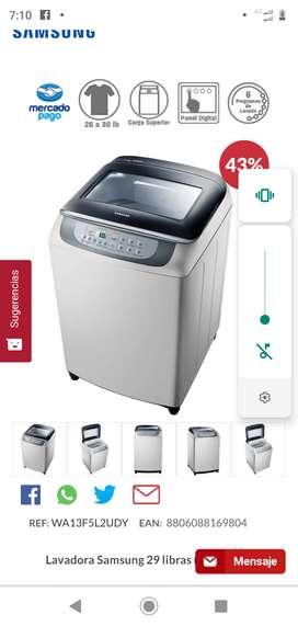 Venta de lavadora Samsung nueva