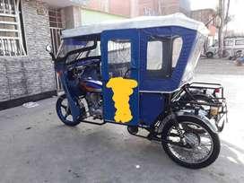 Se vende de ocasion una mototaxi marca SAMA motor 150