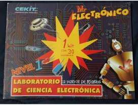 Kit Mr. Electronico Laboratorio de Cienc