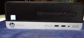 Cpu Hp Prodesk 400 G4 Sff Core I3 6ta Generación